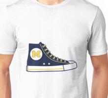University of Michigan Converse Sneaker Unisex T-Shirt