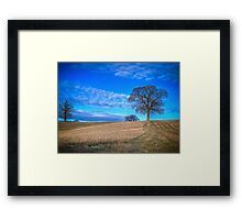 Autumn Landscape Berkshire Framed Print