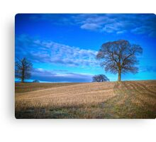 Autumn Landscape Berkshire Canvas Print