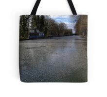 Frozen Canal in Berkshire Tote Bag