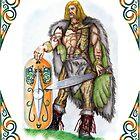 Drawing of Vercingetorix by TheUlsterHound