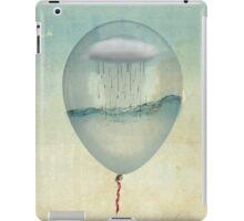 the cloud half full iPad Case/Skin