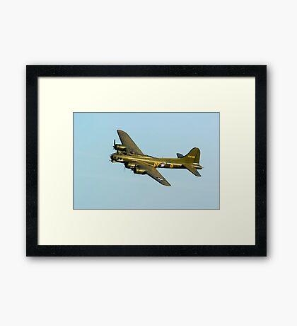 Boeing B17 Sally B Framed Print