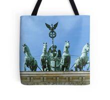 Brandenburg Gate Quadriga Berlin Tote Bag