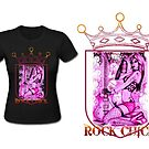 Rock Chick t-shirt design by TheUlsterHound