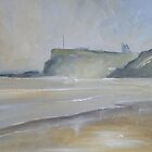 View to Whitby from Sandsend by Sue Nichol