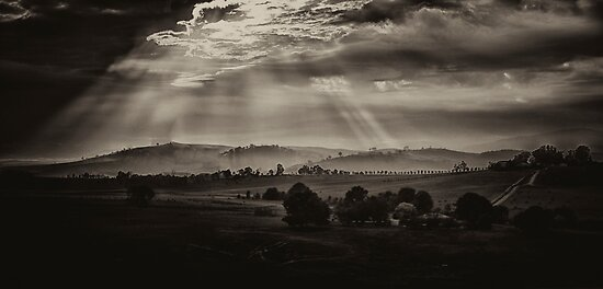 Solitude - Walwa Victoria (Monochrome) - The HDR Experience by Philip Johnson