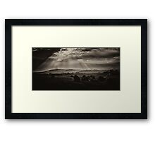 Solitude - Walwa Victoria (Monochrome) - The HDR Experience Framed Print