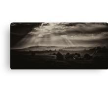 Solitude - Walwa Victoria (Monochrome) - The HDR Experience Canvas Print