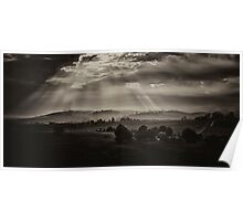 Solitude - Walwa Victoria (Monochrome) - The HDR Experience Poster