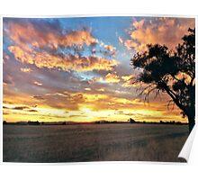 Stockinbingal Sunset # 1 Poster