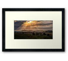 Solitude - Jingellic NSW/ Walwa Victoria (Colour) - The HDR Experience Framed Print