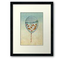 balloon fish 02 Framed Print