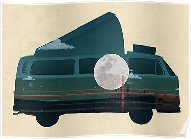 VW Camper by Wyattdesign