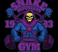 Snake Mountain Gym by jozvozdesign
