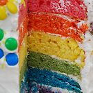 Any one for a slice of a rainbow!? by Geraldine Miller