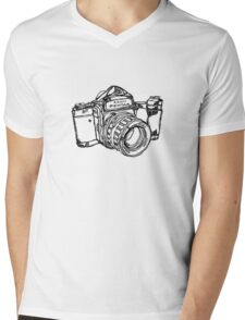 Pentax 6X7 Medium Format Camera Mens V-Neck T-Shirt