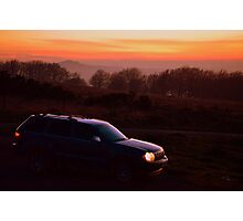 Grand Cherokee at Dusk Photographic Print