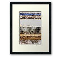 Urban layers Framed Print