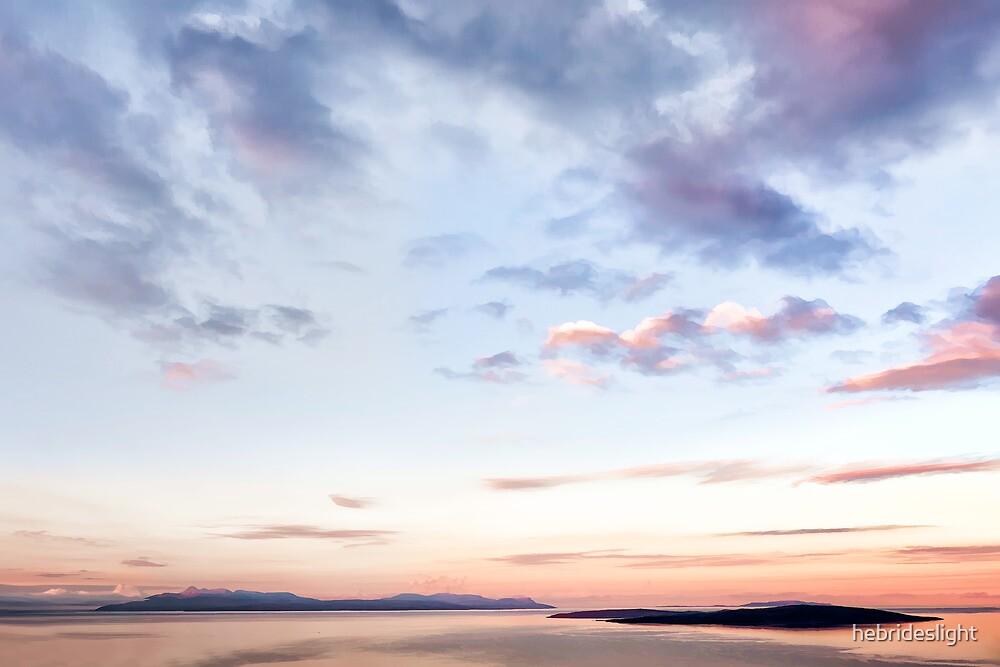 Rum in Pastel Skies by hebrideslight