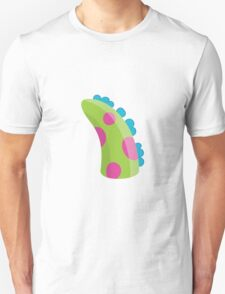 Sea Monster in Green (tail) Unisex T-Shirt