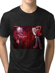 Fan art Yu gi oh Gx Tri-blend T-Shirt