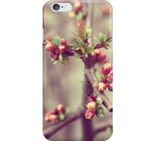 Pink Blossom Nature Photography iPhone Case/Skin