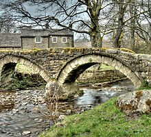 Wycoller Village (HDR) by Stephen Knowles