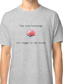 Time Lord Technology Pokeball Classic T-Shirt