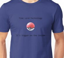 Time Lord Technology Pokeball Unisex T-Shirt