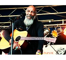Richie Havens smile Photographic Print