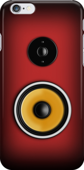 Speaker Phone Red by Ra12