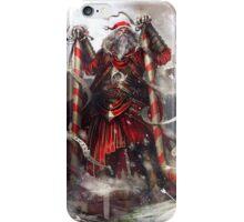 bad-ass santa  iPhone Case/Skin