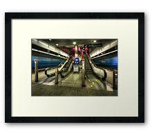 Hauptbahnhof Underground 2.0 Framed Print