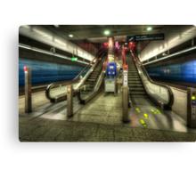 Hauptbahnhof Underground 2.0 Canvas Print