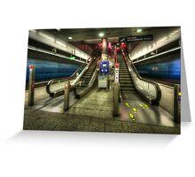 Hauptbahnhof Underground 2.0 Greeting Card