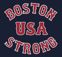 Boston Strong USA by AngryMongo