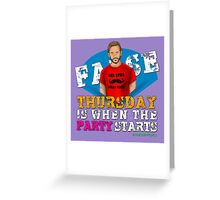 Thursday People Greeting Card