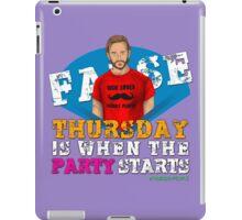 Thursday People iPad Case/Skin