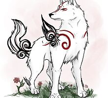 Amaterasu  by SamuraiWARRIOR7
