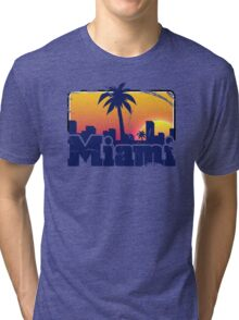 Welcome to Miami Tri-blend T-Shirt
