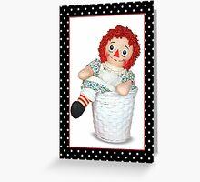 Raggedy Ann Doll Greeting Card