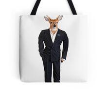 Buck in a Tux Tote Bag