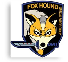 MGS / Star Fox - Star Fox Hound Canvas Print