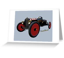 Ford Speedster Special Greeting Card