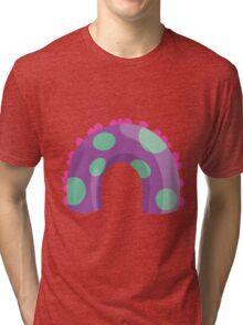 Sea Monster in Purple (body) Tri-blend T-Shirt