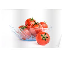 Bowl of Tomatoes Poster