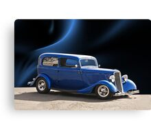 1934 Ford Tudor Sedan Canvas Print