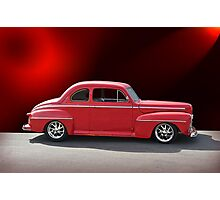 1947 Ford Deluxe Coupe Photographic Print