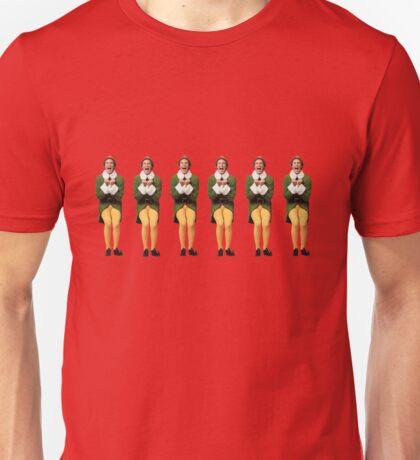 SANTA! OH MY GOD! SANTA'S COMING! I KNOW HIM! I KNOW HIM! Unisex T-Shirt